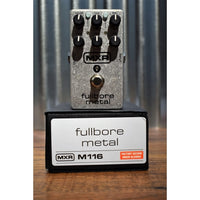 Dunlop MXR M116 Fullbore Metal Distortion Guitar Effects Pedal B Stock