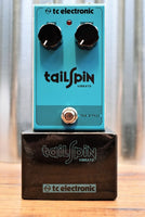 TC Electronic Tailspin Vibrato Guitar Effect Pedal