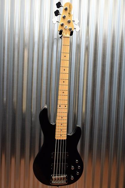 G&L Tribute M-2500 5 String Electric  Bass Black Maple Neck  M2500 #2548