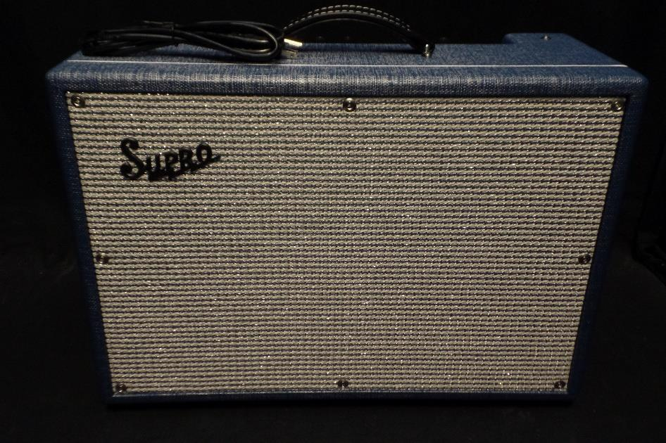 "Supro USA 1624T Dual Tone 24 Watt 1 X 12"" All Tube Combo Amplifier Demo #587*"