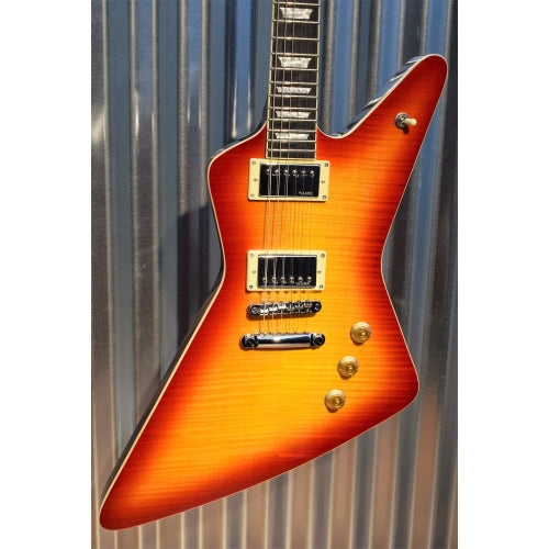 Hamer Guitars Standard Flame Top Cherry Sunburst Electric Guitar & Gig Bag #2180