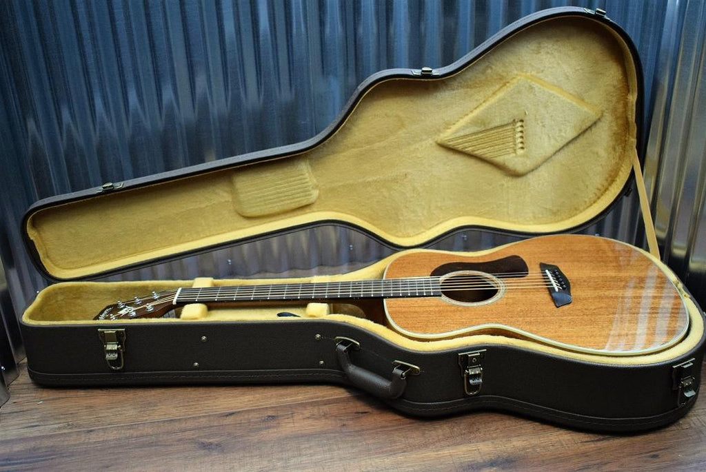 Washburn HG120SWEK Torrefied Solid Wood Acoustic Electric Guitar & Case #0014