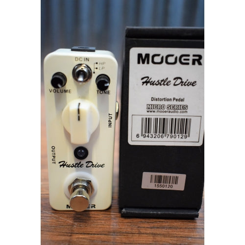 Mooer Audio Hustle Drive Two Mode Micro Distortion Effect Pedal
