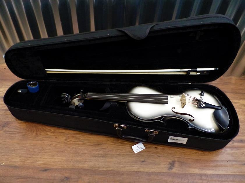 Barcus Berry Vibrato AE Violin Acoustic Electric in Tuxedo with Case #1464 *
