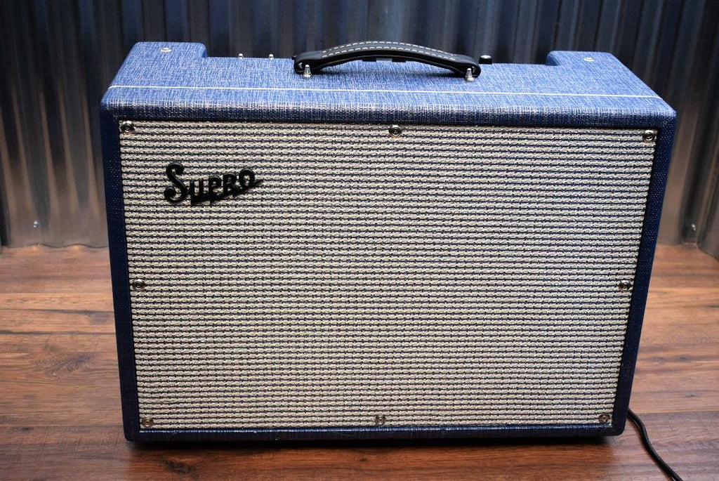 Supro USA 1650RT Royal Reverb 35/45/60 Watt All Tube 2x10 Combo Amplifier #367