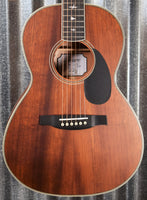 PRS Paul Reed Smith SE Parlor Vintage Mahogany Acoustic Electric Guitar & Bag #4330