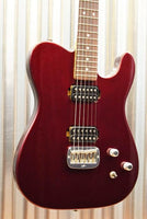 G&L Guitars USA ASAT Deluxe Semi-Hollow Ruby Red Metallic Guitar Blemish #5322