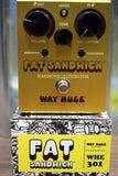 Dunlop Way Huge Electronics WHE301 FAT Sandwich Guitar Effect Pedal