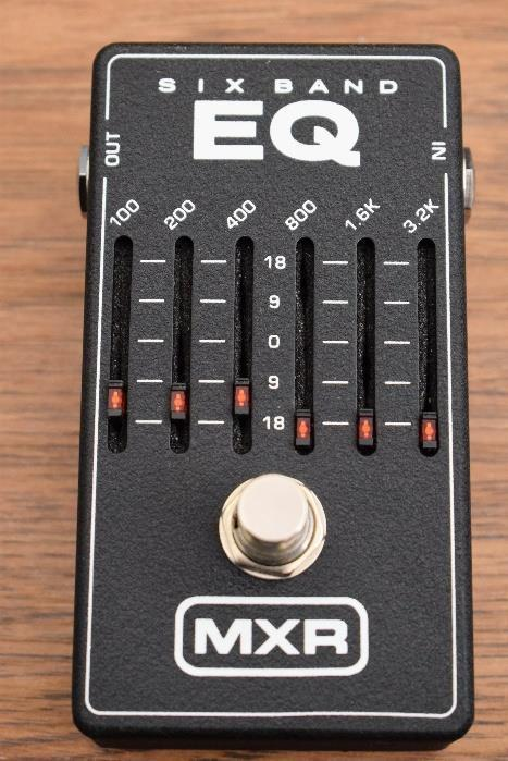 MXR M109 Six Band Graphic Eq Equalizer M-109 Guitar Effect Pedal 6 Band Used