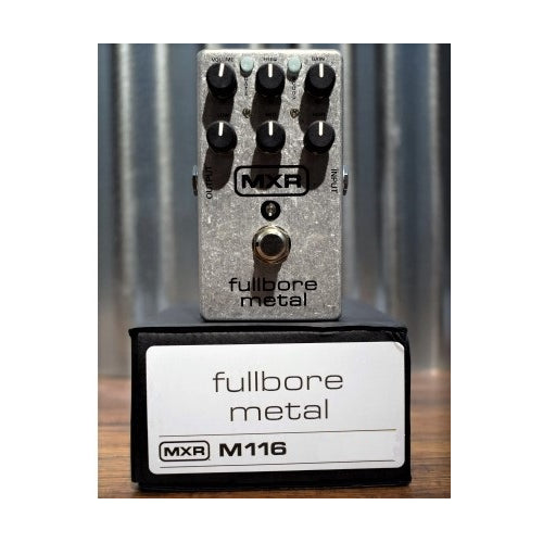 Dunlop MXR M116 Fullbore Metal Distortion Guitar Effects Pedal