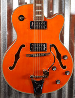 Epiphone Emperor Swingster LTD Edition Custom Shop Sunrise Orange Hollowbody Guitar & Case #4207 Used
