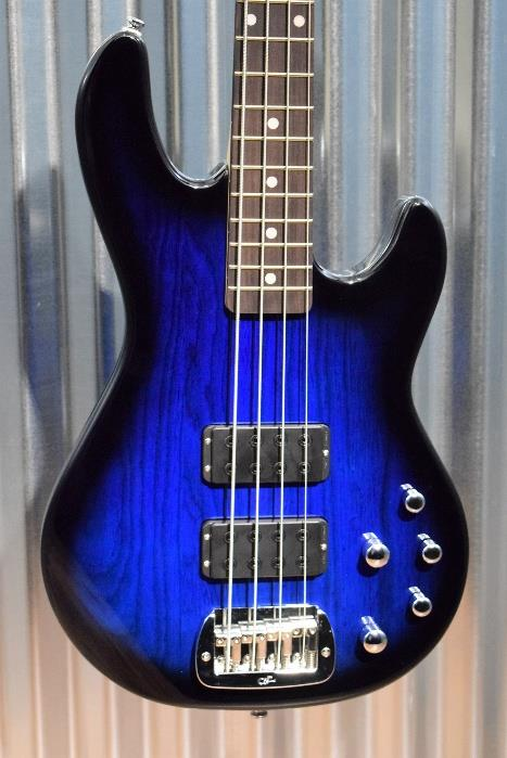 G&L Tribute M-2000 4 String Bass Blueburst 3 Band Active EQ - M2000  #8105