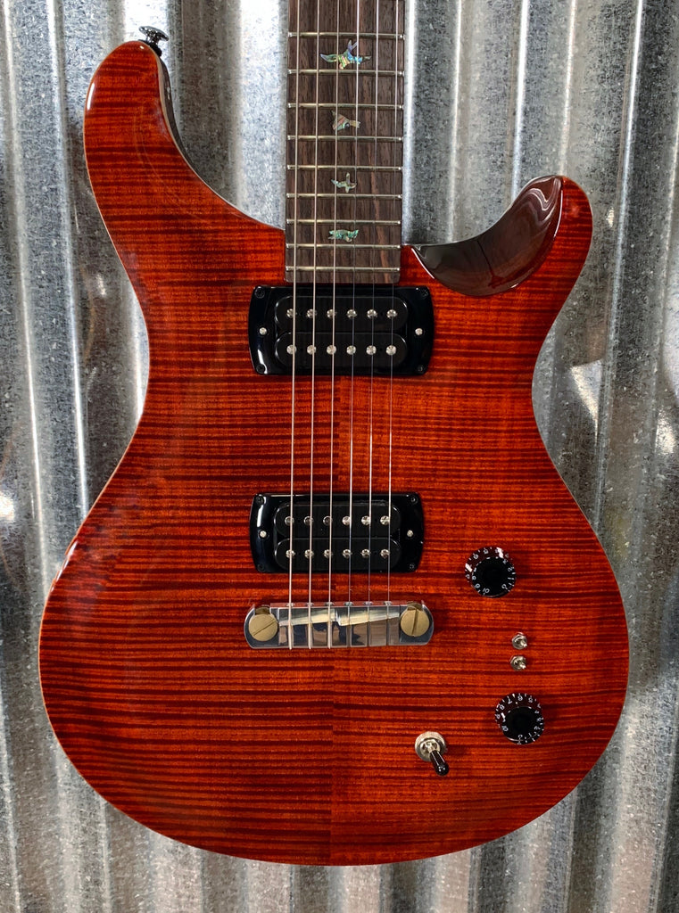PRS Paul Reed Smith SE Paul's Guitar Fire Red & Bag #6697