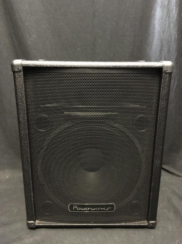 Powerwerks PW15 100 Watt 15 inch Unpowered Loaded Speaker Cabinet & Horn #5004 *