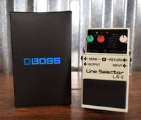 Boss LS-2 Line Selector AB Switch Guitar Effect Pedal