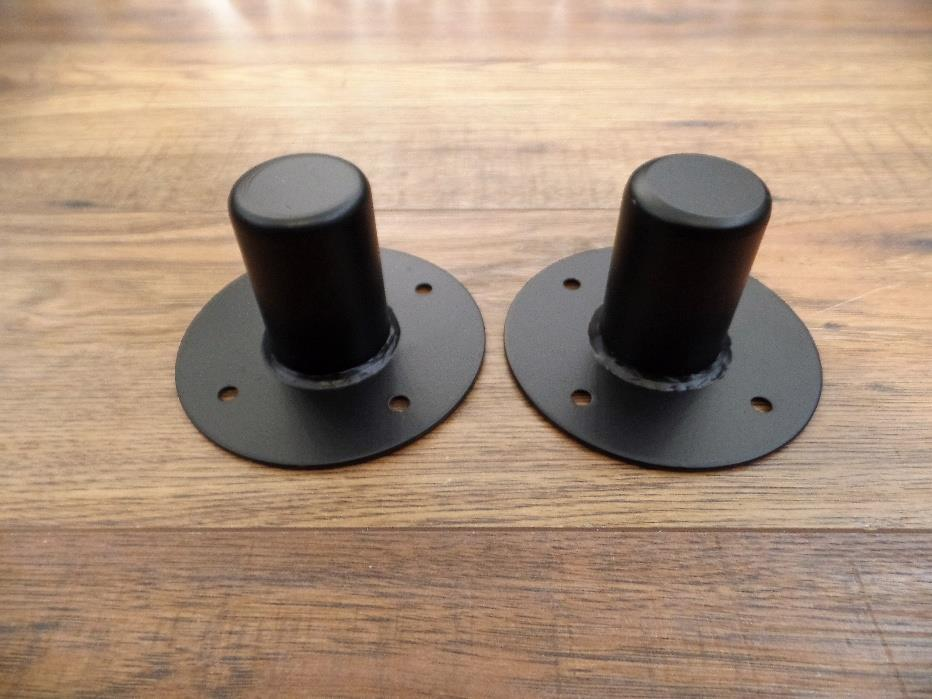 Wharfedale Pro Steel 1 3/8 Top Hat Pole Mounting Cup 1 Pair 259-2080000001R