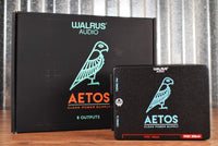 Walrus Audio Aetos 8 Isolated Output Effect Pedalboard Power Supply Black