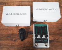 Aalberg Audio ROM RO-1 Digital Reverb Guitar Effect Pedal & Aero AE-1 Wireless Controller