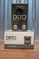 TC Helicon DItto Mic Looper Vocal & Acoustic Guitar Loop Effect Pedal