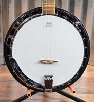Ortega Guitars Falcon OBJ750-MA Flame Maple 5 String Banjo & Bag #0004 B Stock