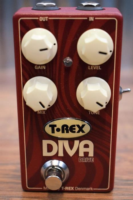 T-Rex Engineering Diva Drive Overdrive With Blend Guitar Effect Pedal #18