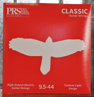 PRS Paul Reed Smith Classic Custom Light Electric Guitar Strings 9.5-44 Gauge