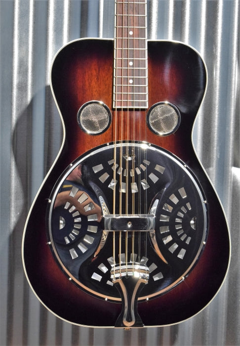 Recording King Maxwell RR-36-VS Vintage Sunburst Resonator Acoustic Guitar #2
