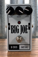 Big Joe Stomp Box Analog Metal B-303 Big Joe Series Distortion Guitar Effects Pedal