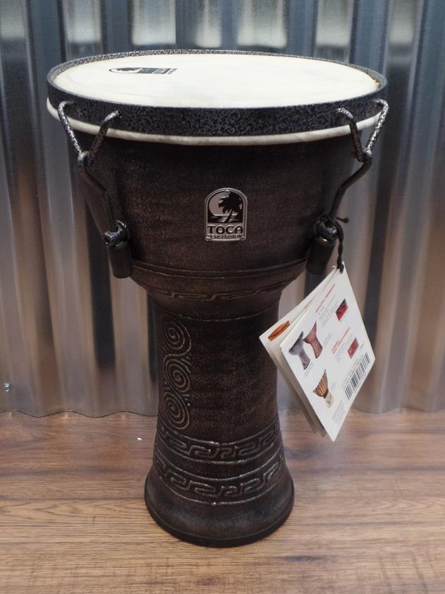 "Toca SFDMX-9AS Freestyle 9"" Mechanically Tuned Extended Rim Djembe *"