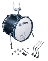 Odery Drums CafeKit Expansion 20 x 16 Kick Drum IRCAFE-EXP-BLA Black Ash