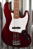 G&L USA Fullerton Standard JB Jazz Bass Ruby Red Metallic & Bag #2044