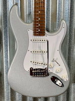 G&L USA Fullerton Custom Legacy Silver Metallic Guitar & Case 2018 #4186