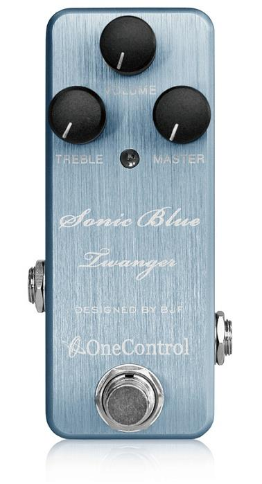 One Control BJF Sonic Blue Twanger Distortion Guitar Effect Pedal