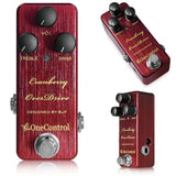 One Control BJF Cranberry Limited Edition Overdrive Guitar Effect Pedal