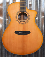 Breedlove Organic Artista Concerto Natural Shadow CE Torrefied Acoustic Electric Guitar & Bag #3315