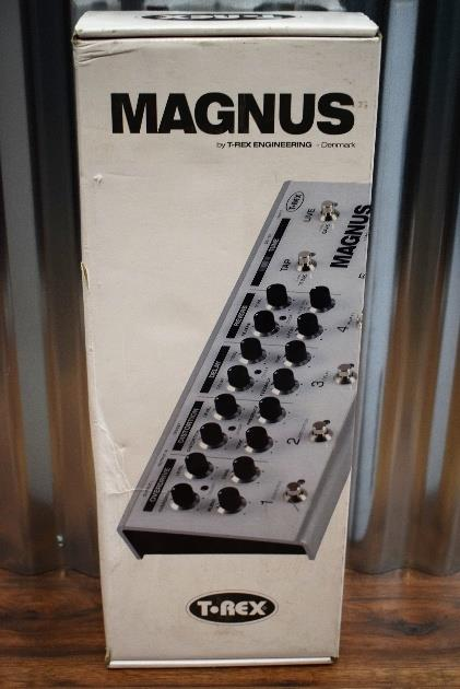 T-Rex Engineering Magnus Reverb Overdrive Delay Tuner Guitar Effect Pedal #87