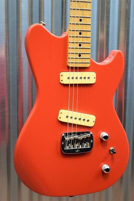 G&L Guitars USA SC-2 Fullerton Red Electric Guitar & Case SC2 2016 #6483