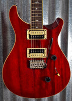 PRS Paul Reed Smith SE Standard 24 Vintage Cherry Electric Guitar & Bag #3374