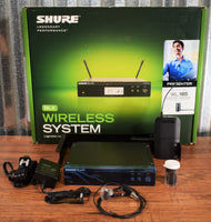 Shure BLX14R-W85-J10 Wireless Rack-mount Presenter System with WL185 Lavalier Microphone Demo