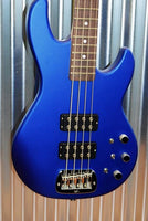 G&L Guitars USA L-2000 4 String Bass Midnight Blue Metallic Frost & Case 2017 #4087
