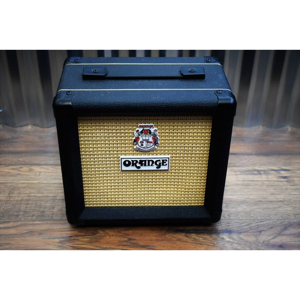 "Orange Amplification PPC108 20 Watt 8 Ohm 8"" Micro Series Guitar Speaker Cabinet Black Used"