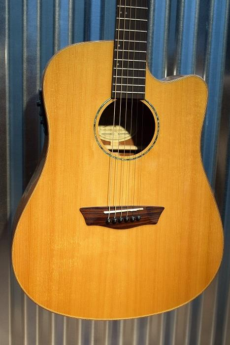 Washburn WD160SWCE Timber Ridge Solid Woods Acoustic Electric Guitar #2442