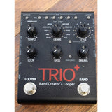 DigiTech Trio Plus Band Creator Effects FX Pedal for Electric Guitar Trio+