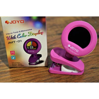 JOYO JMT-01 Clip-on Tuner and Metronome with Color Display PINK