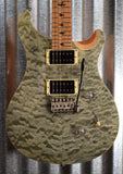 PRS Paul Reed Smith SE Custom 24 Roasted Maple Limited Trampas Green Guitar & Bag #9931