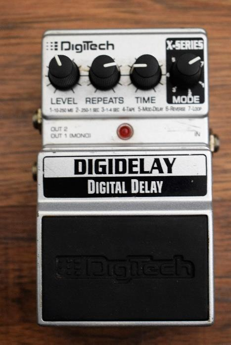 Digitech X Series Digidelay Digital Delay Gutar Effect Pedal