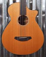 Breedlove Solo Jumbo CE Acoustic Electric Fretless Bass #4453