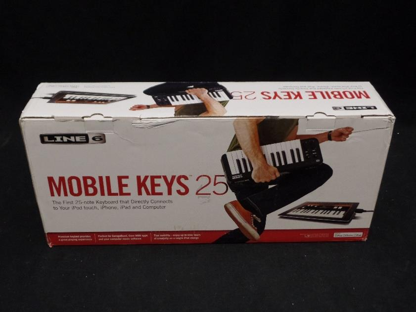 Line 6 Mobile Keys 25 Note USB or Apple Device Keyboard Controller