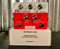 VHT Redline V4 Four Mode Distortion Guitar Effect Pedal AV-RL-V4