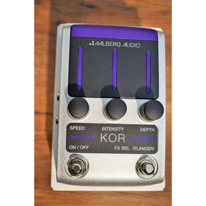 Aalberg Audio KOR KO-1 Wireless Controllable Digital Chorus Flanger Guitar Effect Pedal